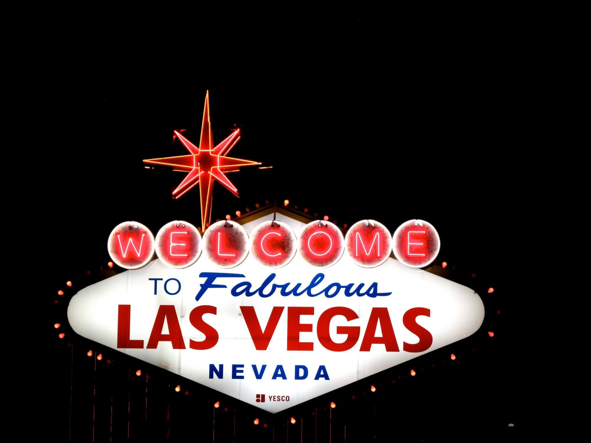 """The iconic """"Welcome to Fabulous Las Nevada"""" sign that attendees will see when they arrive in Vegas for the Nightclub and Bar Show."""